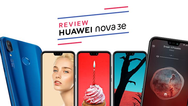 Huawei Nova 3e สมาร์ทโฟนมิดเรนจ์ กล้องดี เซลฟี่สวย ดีไซน์เรือธง
