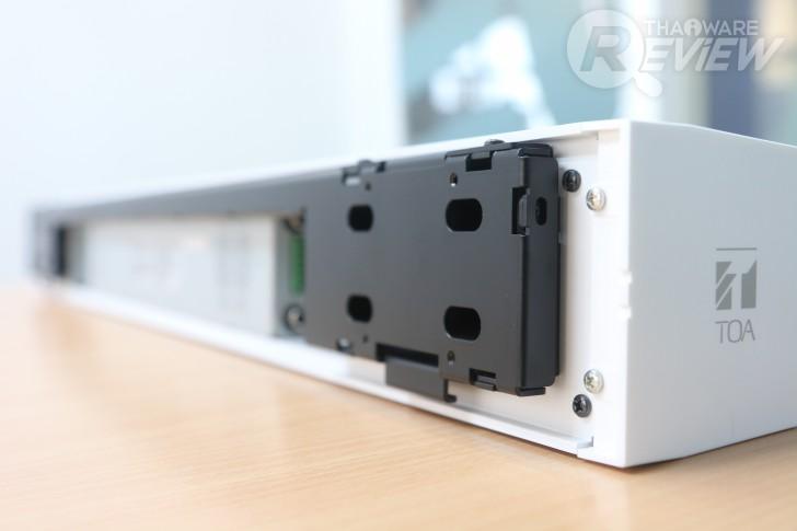 ระบบชุดห้องประชุมคุณภาพสูง TOA รุ่น AM-CF1 เสียงพูดชัดเจนด้วยระบบจับเสียงอัจฉริยะ