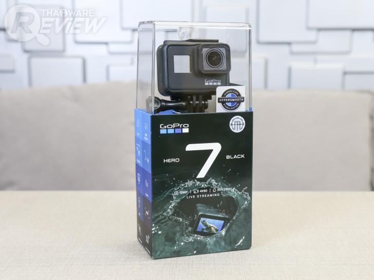 GoPro HERO7 Black แอคชั่นคาเมร่าที่มาพร้อมกับระบบกันสั่นสุดเทพ
