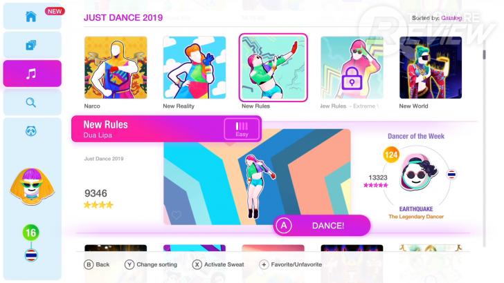 Just Dance 2019 บน Nintendo Switch ไม่มีกล้องก็เล่นได้ แถมยังเต้นนอกสถานที่ได้อีกด้วย