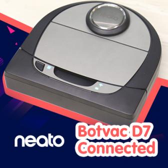 รีวิว Neato Botvac D7 Connected หุ่นยนต์ดูดฝุ่น ระดับท็อป ทำแผนที่ห้องด้วยเลเซอร์สั่งงานผ่านแอพฯ