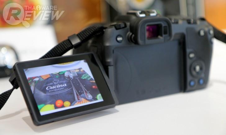 Canon EOS RP กล้อง Mirrorless Full-frame ราคาเบา น้ำหนักเบา น่าจะโดนใจสาวกอยู่นะ