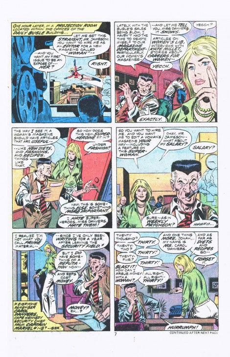 Captain Marvel | มารู้จักฮีโร่หญิงสุดทรงพลัง Captain Marvel (และเจ้าแมวส้ม Goose)