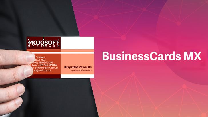 รีวิว BusinessCards MX โปรแกรมทำนามบัตรสำเร็จรูป ออกแบบเองได้ ไม่ยุ่งยาก