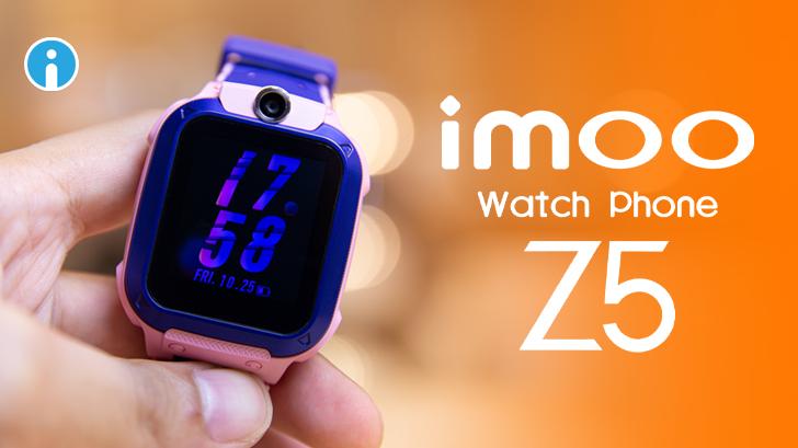 imoo Watch Phone Z5 นาฬิกาโทรศัพท์ 4G สุดล้ำสำหรับเด็ก ป้องกันเด็กหาย ปลอดภัยกว่า เพิ่มฟีเจอร์วิดีโอคอล