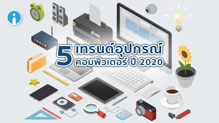 ส่อง 5 เทรนด์อุปกรณ์คอมพิวเตอร์ปี 2020