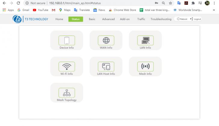 Wi-Fi 6 Router A4262 By T3 เราเตอร์ Mesh Wi-Fi ทรงโมเดิร์น รองรับ Wi-Fi 6