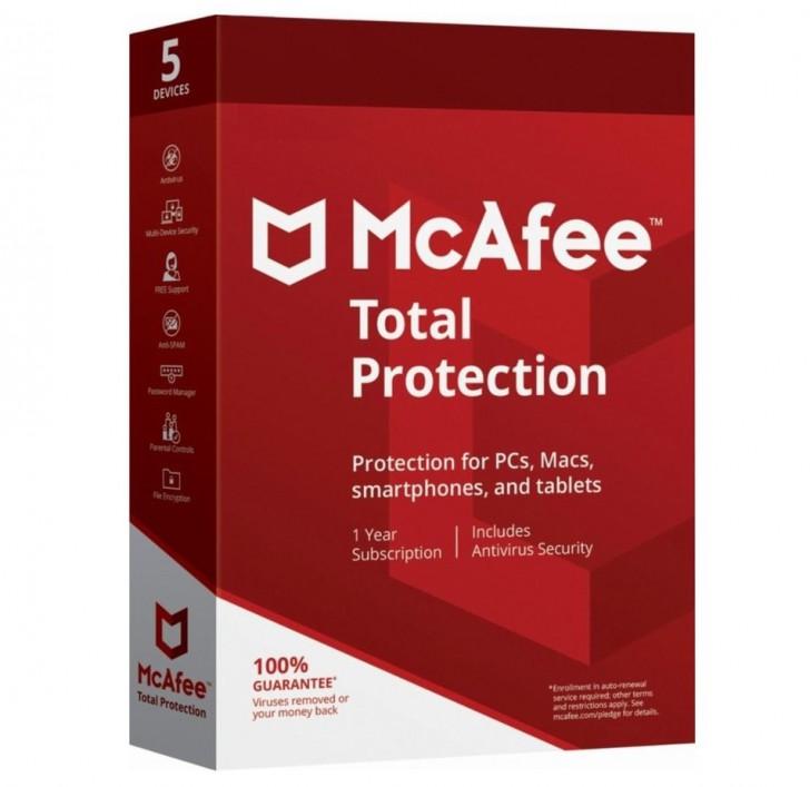McAfee Total Protection โปรแกรมแอนดี้ไวรัสตัวเก่ง ลูกเล่นเพียบ