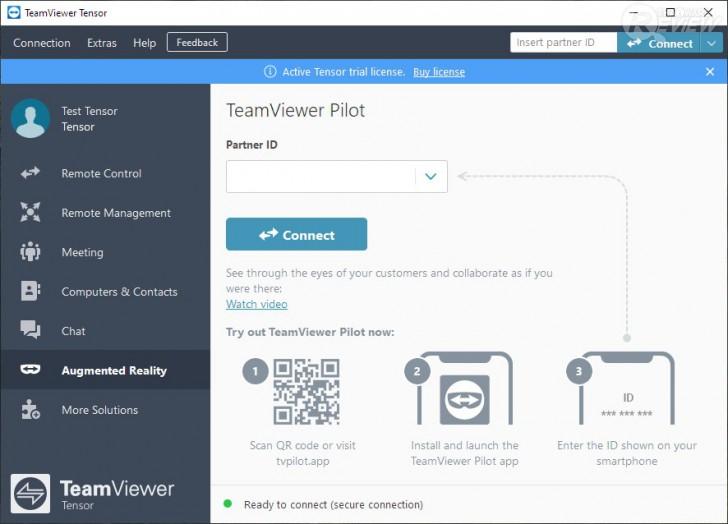 TeamViewer Tensor โปรแกรมรีโมทคอมพิวเตอร์ Remote Desktop สำหรับองค์กรขนาดใหญ่