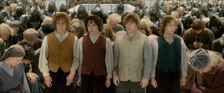 หนัง ภาพยนตร์ The Lord of the Rings: The Return of the King